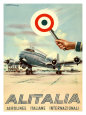 Alitalia, Aerolinee Italiane Internazionali Gicleetryck