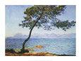 Antibes Lámina por Claude Monet