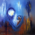 Icon of Love IV Reproduction d'art par Roula Ayoub