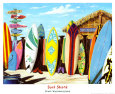 Surf Shack Art Print by Scott Westmoreland