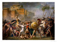 The Sabine Women, 1799 reproduction procédé giclée par Jacques-Louis David