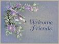 Bienvenidos amigos Lámina por T. C. Chiu