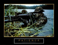 Patience - Soldat Reproduction d'art