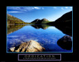 Dedication: Jordan Pond Art Print by Dermot Conlan