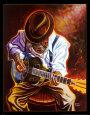 Brkat si blues Umělecká reprodukce od Steven Johnson