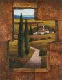 Tuscan Villa I Kunsttryk af T. C. Chiu