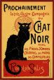 Tourne du Chat Noir, vers 1896 Affiche