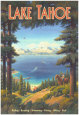 Lac Tahoe Reproduction d'art par Kerne Erickson