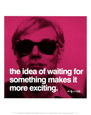 Waiting Art Print by Andy Warhol