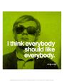 Každý Umělecká reprodukce od Andy Warhol