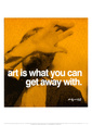 Art Art Print by Andy Warhol