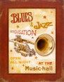 New Orleans Jazz IV Kunsttryk af Pela Design