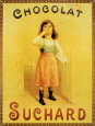 Chocolate Suchard Tin Sign