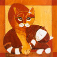 Chats I Art Print by Michle Neuhard