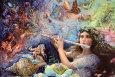 Enchanted Flute plakat według Josephine Wall