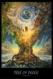 Tree Of Peace Plakát od Josephine Wall