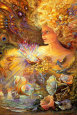 Crystal Of Enchantment Poster by Josephine Wall