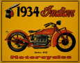 Motorcycles (Vintage Art) Posters
