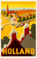Dutch Travel Ads (Vintage Art) Posters