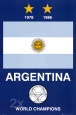 Argentina World Cup Affiche