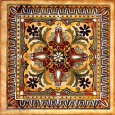 Italian Tile II Reproduction d'art par Ruth Franks
