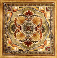 Italian Tile IV Reproduction d'art par Ruth Franks