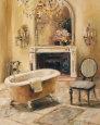 French Bath I Kunsttryk af Marilyn Hageman