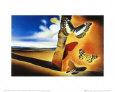 Landskab med sommerfugle  Kunsttryk af Salvador Dalí