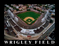 Wrigley Field - Chicago, Illinois Kunsttryk af Mike Smith