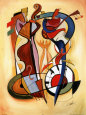 Abstract Figures (Decorative Art) Posters