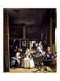 Las Meninas Lámina giclée por Diego Velázquez