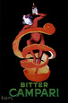 Bitter Campari, c.1921 Plakat