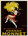 Cognac Monnet, ca. 1927 Miniplakat
