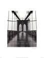 Brooklyn-broen, New York Kunsttryk af Christopher Bliss