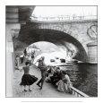 Rock 'n' Roll sur les Quais de Paris Kunsttryk af Paul Almasy