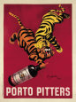 Porto Pitters Art Print by Leonetto Cappiello