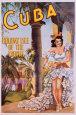 Cuba, på engelsk Plakat