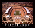 Pittsburgh  (First Game, Heinz Field,  August 25, 2001) Art Print by Mike Smith
