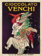 Cioccolato Venchi Kunstdruck von Leonetto Cappiello