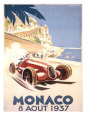 Monaco, 1937 Giclee Print