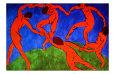 Dance, 1910 Giclée-tryk af Henri Matisse