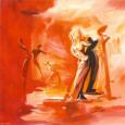 Romance in Red I Kunsttryk af Alfred Gockel