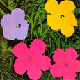 Flowers, 1970 Art Print by Andy Warhol