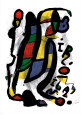 Milán Umělecká reprodukce od Joan Miró
