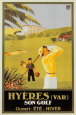 Hyeres Son Golf Poster