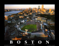 Boston: match All Star Game  Fenway Reproduction d'art par Mike Smith