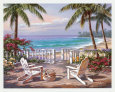 Tropical Beaches (Decorative Art) Posters