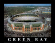 Nuevo estadio Lambeau Field de los Green Bay Packers Lámina por Mike Smith
