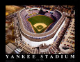 Yankee Stadium - New York, New York Art Print by Mike Smith