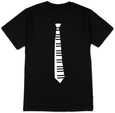 Piano Key Tie Camiseta